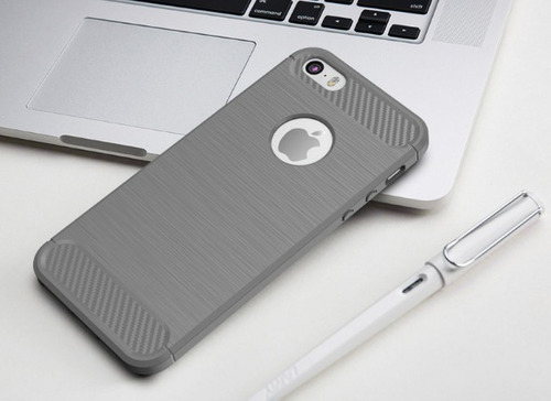 capa anti-queda fosca iphone 5s se 6 6plus 7 7 plus 8 plus