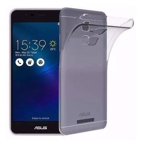 capa asus zenfone 3 max 5.2+pelicula gel cobre tela inteira
