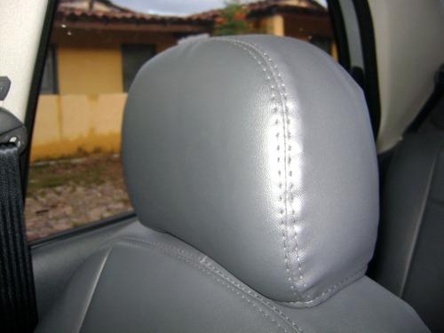 capa automotiva de couro courvin p/ uno mille economy