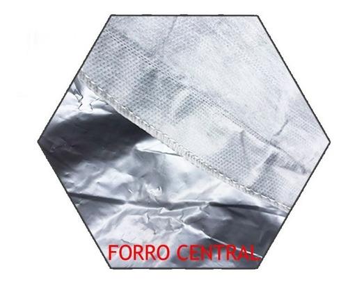 capa automotiva forrada com proteção solar impermeavel p m g