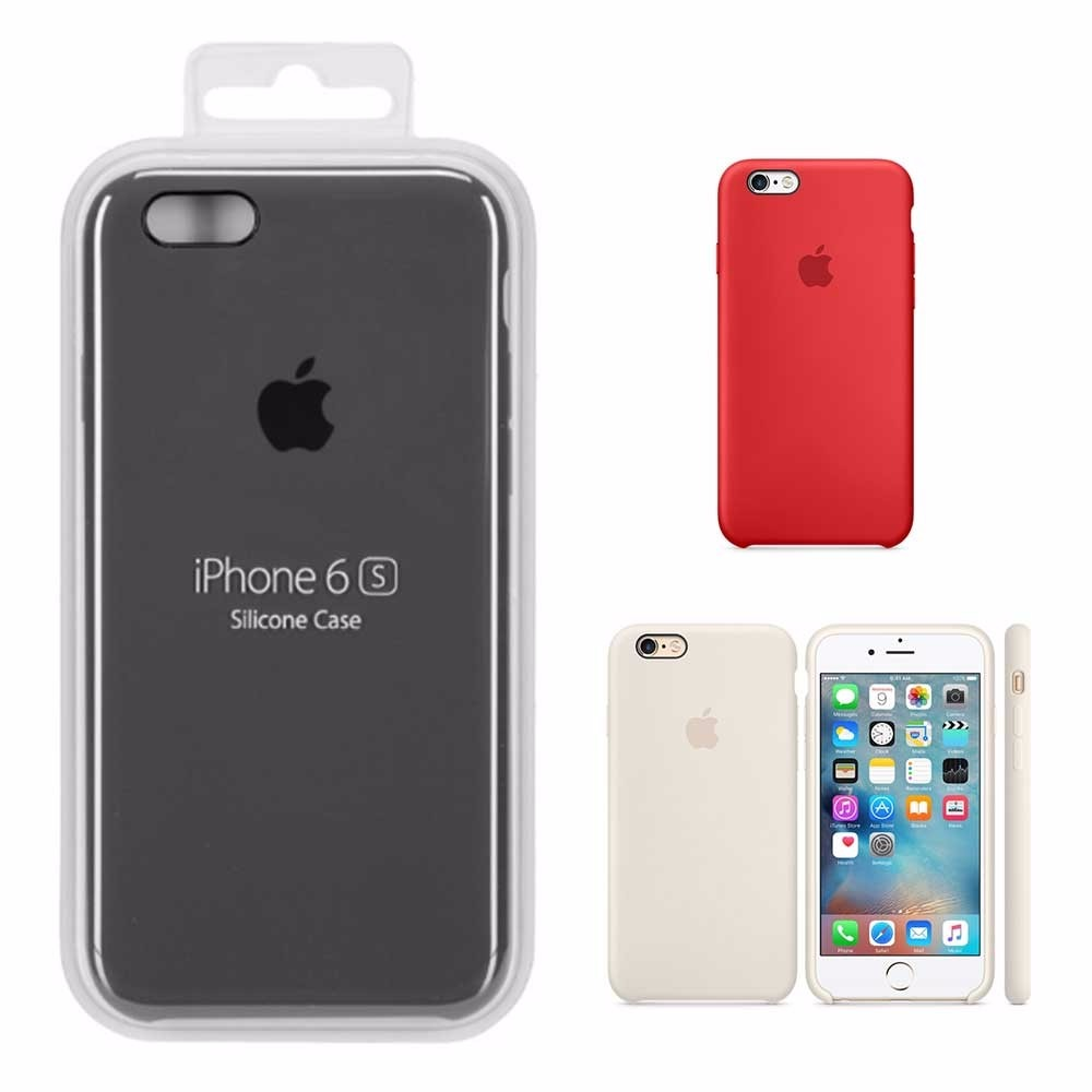 75bc10429 capa azul claro ou marinho original logo apple iphone 6 plus. Carregando  zoom.