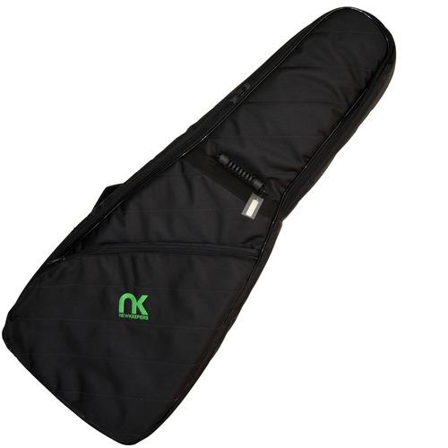capa bag guitarra maxipro preto super proteção newkeepers