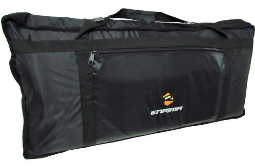 capa bag p/ teclado modelo yamaha cassio 5/8 61 teclas psr