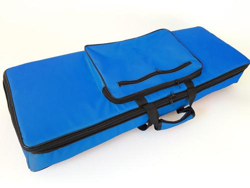 capa bag para teclado m-audio keystation 61