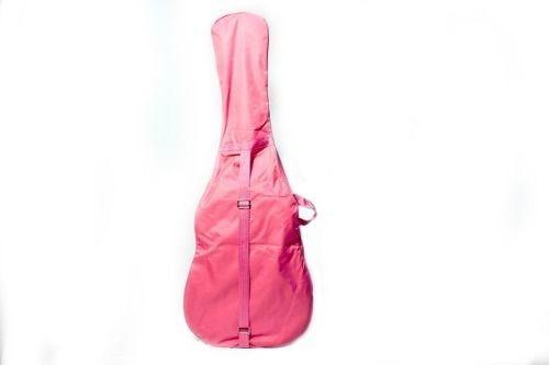 capa bag para violao classico rosa promoção