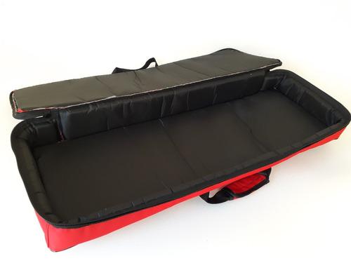 capa bag teclado m-audio axiom pro 61 frete gratis rs