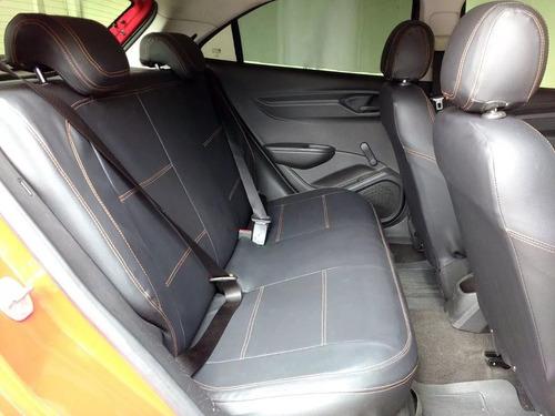 capa banco automotivo couro gm onix 2013 1.0 ls