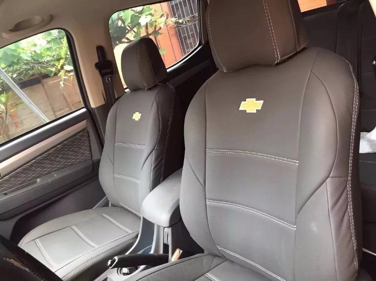 Capa Banco Carro Couro Chevrolet S10 H. Country Cabine Dupla