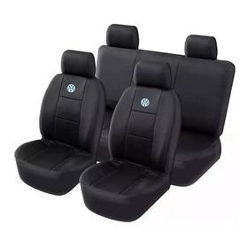 Capa Banco Carro Couro Volkswagen G2 G3 G4 G5 G6 G7 + Volant