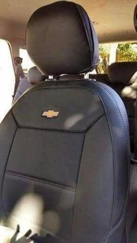 capa banco couro automotivo chevrolet spin 2015