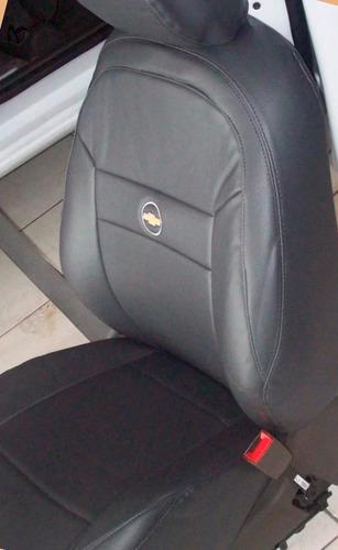 capa banco couro automotivo montana 2004  sport 1.8 flex