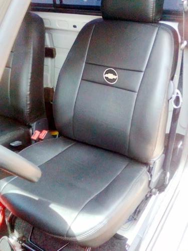 capa banco couro automotivo montana 2008  sport 1.8 flex