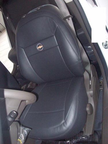 capa banco couro carro montana 2009 sport 1.8 (flex)