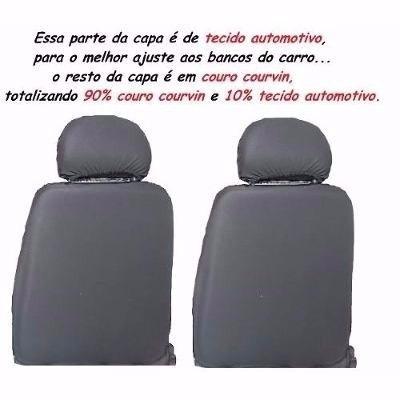 capa banco couro carro montana 2010 sport 1.8 (flex)