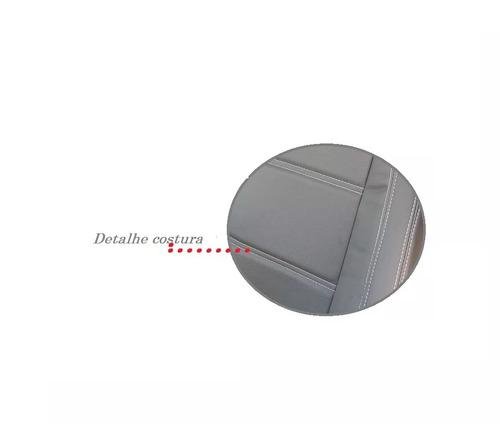 capa banco couro ecológico courvin gm d20 92/96 cab. simples