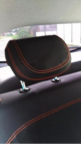 capa banco couro especifica onix 2013 1.0 lt promoção