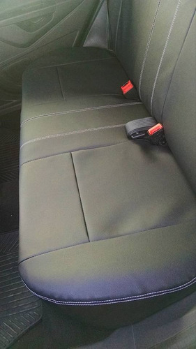 capa banco de couro sintético especifico p/ ford new fiesta