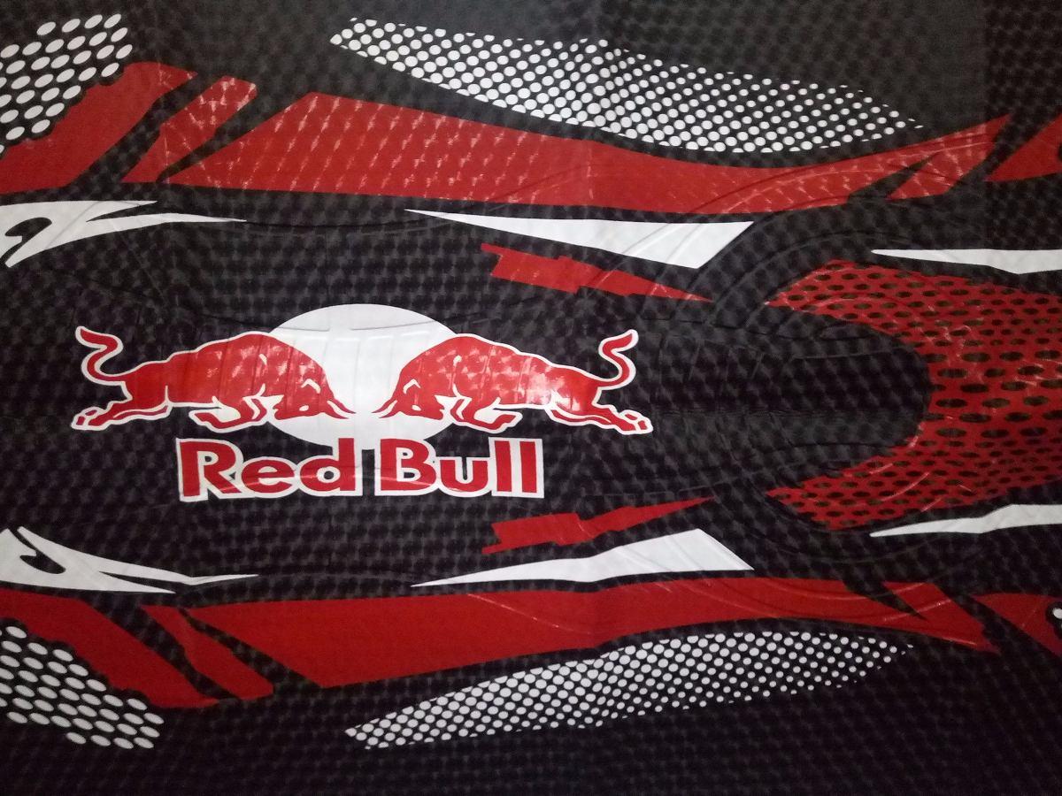 Capa De Banco Para Motos Bros 150 160 2004 2016 Red Bull - R  66 a6f65e252a4