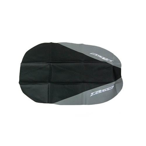 capa banco titan125 95 a 99 cinza+preta