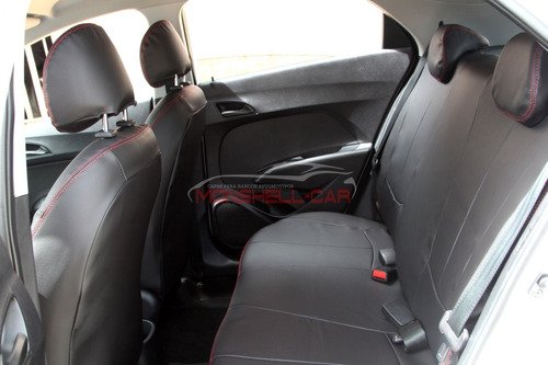 capa bancos de couro automotivo p/ hb20 1.0 confort plu 2016