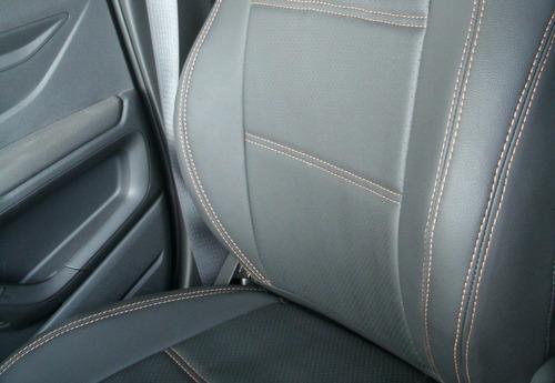 capa bancos de couro automotivos p/ onix 1.0 lt 2013