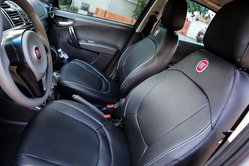 capa bancos de couro automotivos p/ siena fire 2011