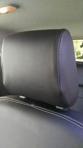 capa bancos de couro courvin  p/ ford new fiesta