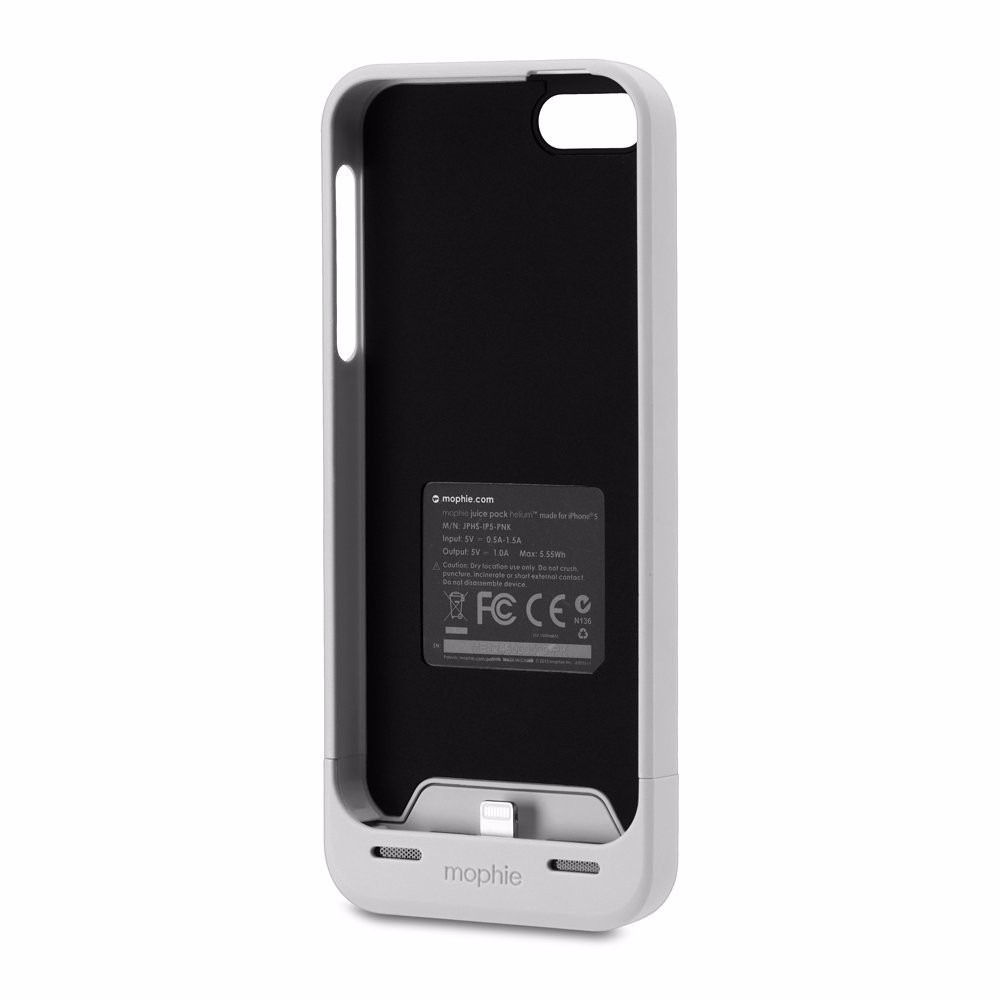 capa bateria mophie juice pack plus 1700mah iphone 5 5s. Black Bedroom Furniture Sets. Home Design Ideas
