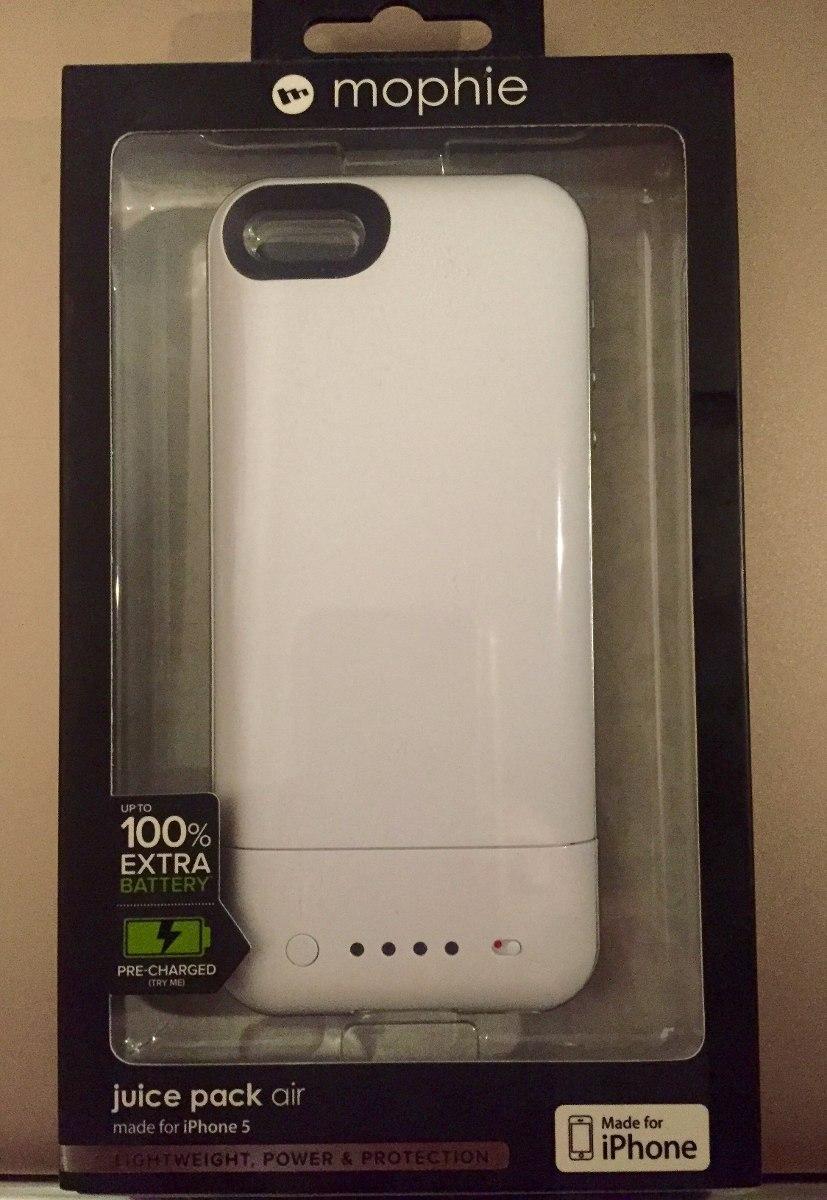 on sale 5459c b7086 Capa Bateria Mophie Juice Pack Plus 1700mah iPhone 5/5s 100%