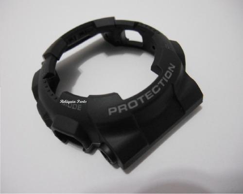capa bezel casio gd-100-1adr g-shock original preto fosco