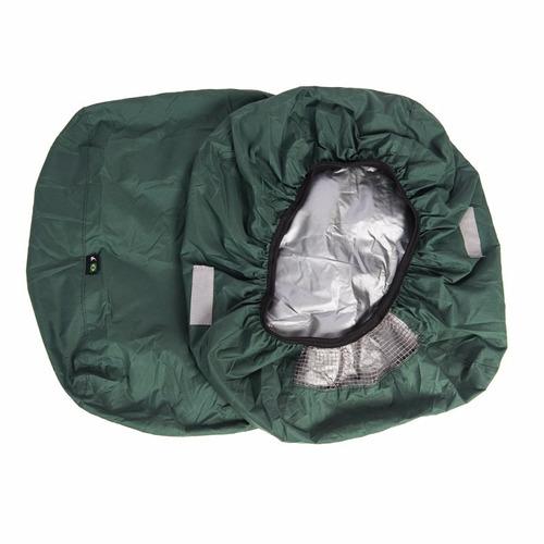 capa bolsa chuva p/alforje alforge ciclismo impermeável 60l