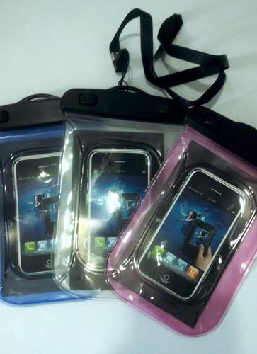 capa bolsa estanque impermeável para iphone,celular,ipod,etc