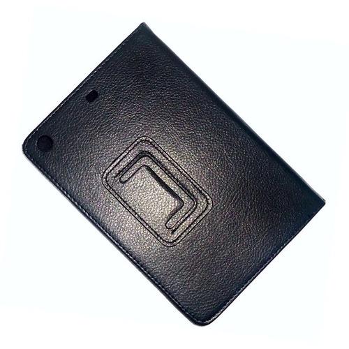 capa book case couro sintético apple ipad mini 1 2 3 retina