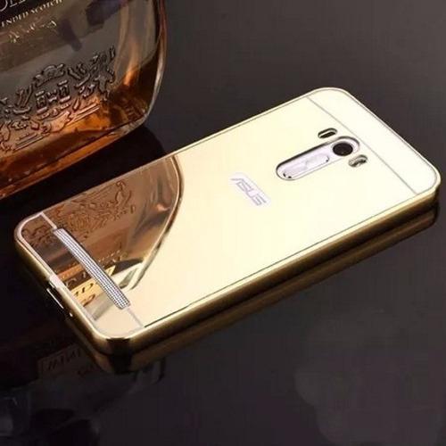 capa bumper alumínio espelhada asus zenfone selfie zd551
