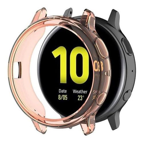 capa bumper case para galaxy watch active 2 44mm sm-r820