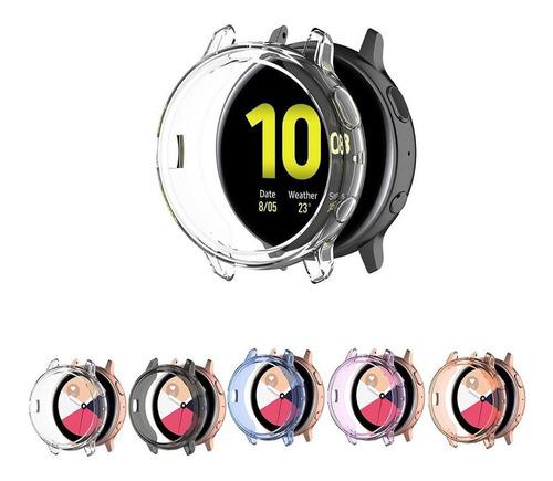 capa bumper case para galaxy watch active 2 44mm sm-r825