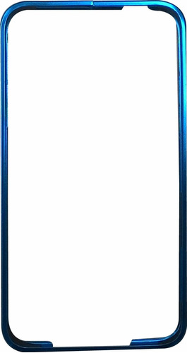 capa bumper de aluminio - iphone 6 plus - várias cores