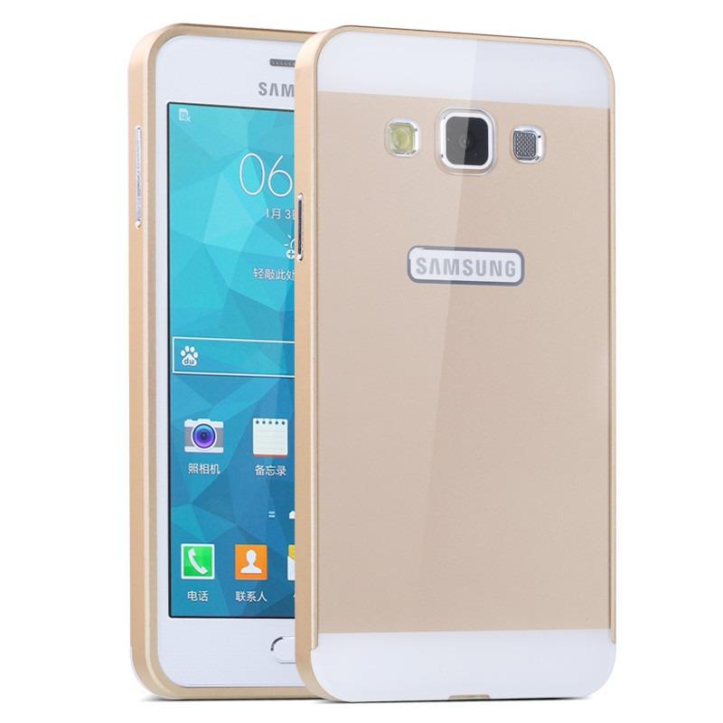 aea7a47cd Capa Bumper Em Alumínio Para Samsung Galaxy A7 Com Fundo - R  35