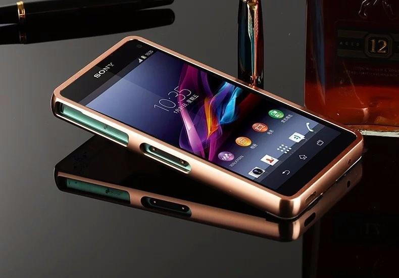 Capa Bumper Espelhada Celular Sony Xperia Z3 Compact D5833