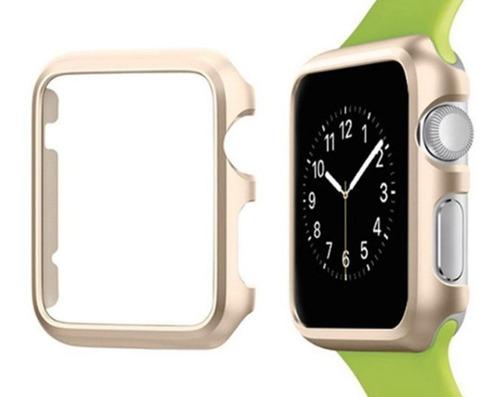 capa bumper microdata apple watch 38mm serie 1,2,3 - dourada