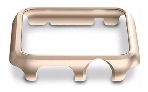 capa bumper microdata apple watch 42mm serie 1/2/3 - dourada