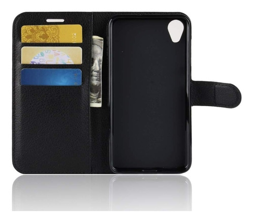 capa capinha carteira flip couro zenfone live l1 za550kl 5.5