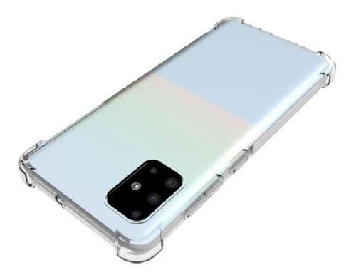 capa capinha case air bag galaxy a31 + pelicula de vidro