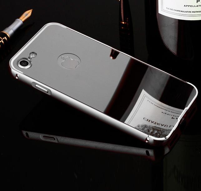 5afc02459 Capa Capinha Case Bumper Alumínio Espelhada Iphone 8 Plus - R  34