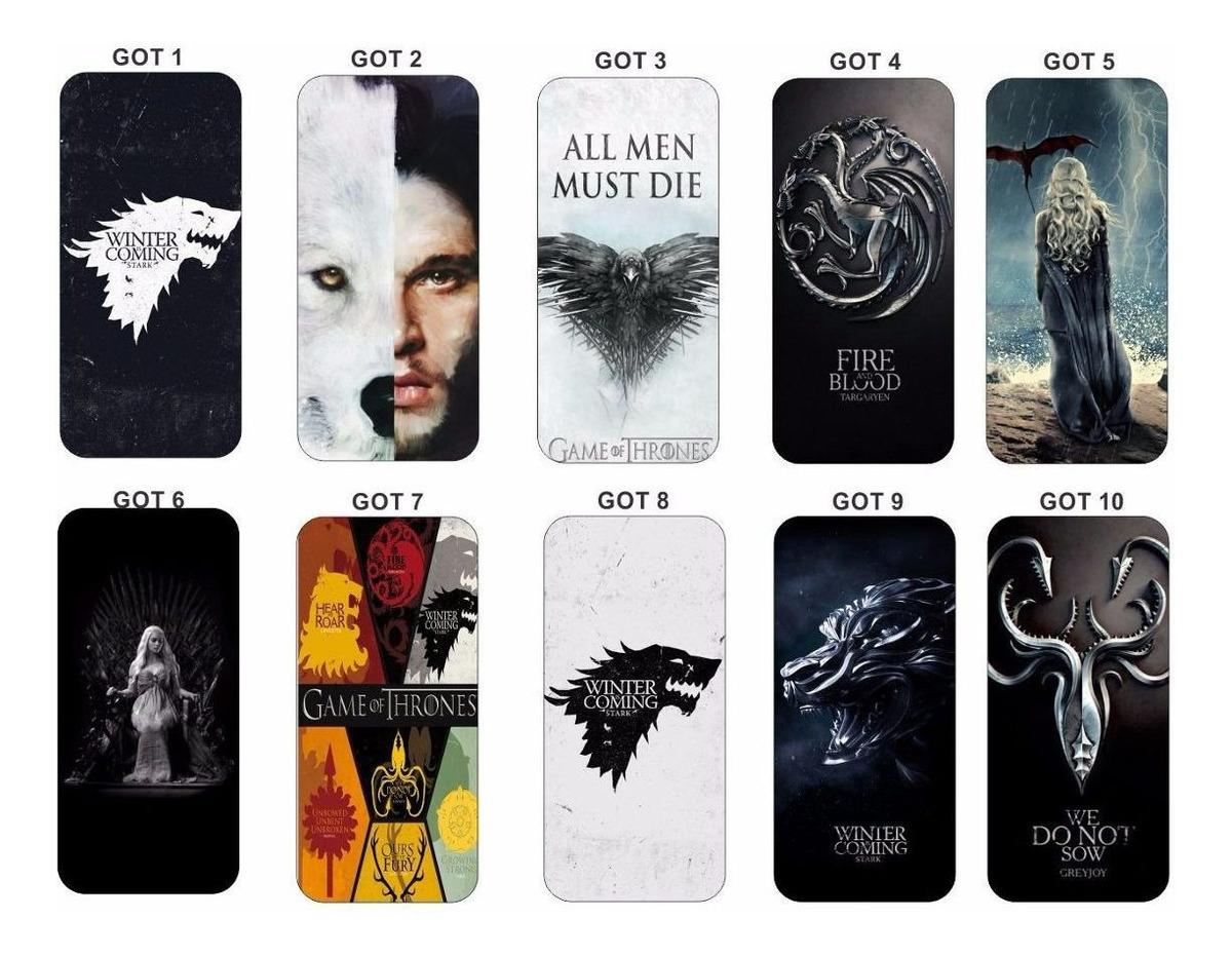 Capa Capinha Case Celular Game Of Thrones iPhone 7 7 Plus