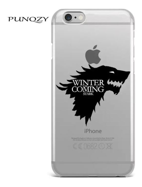 Capa Capinha Case De Silicone Game Of Thrones iPhone 6 6s