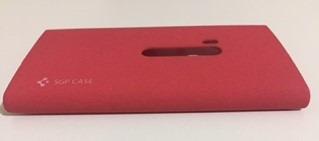 capa capinha case nokia lumia 920 vermelha