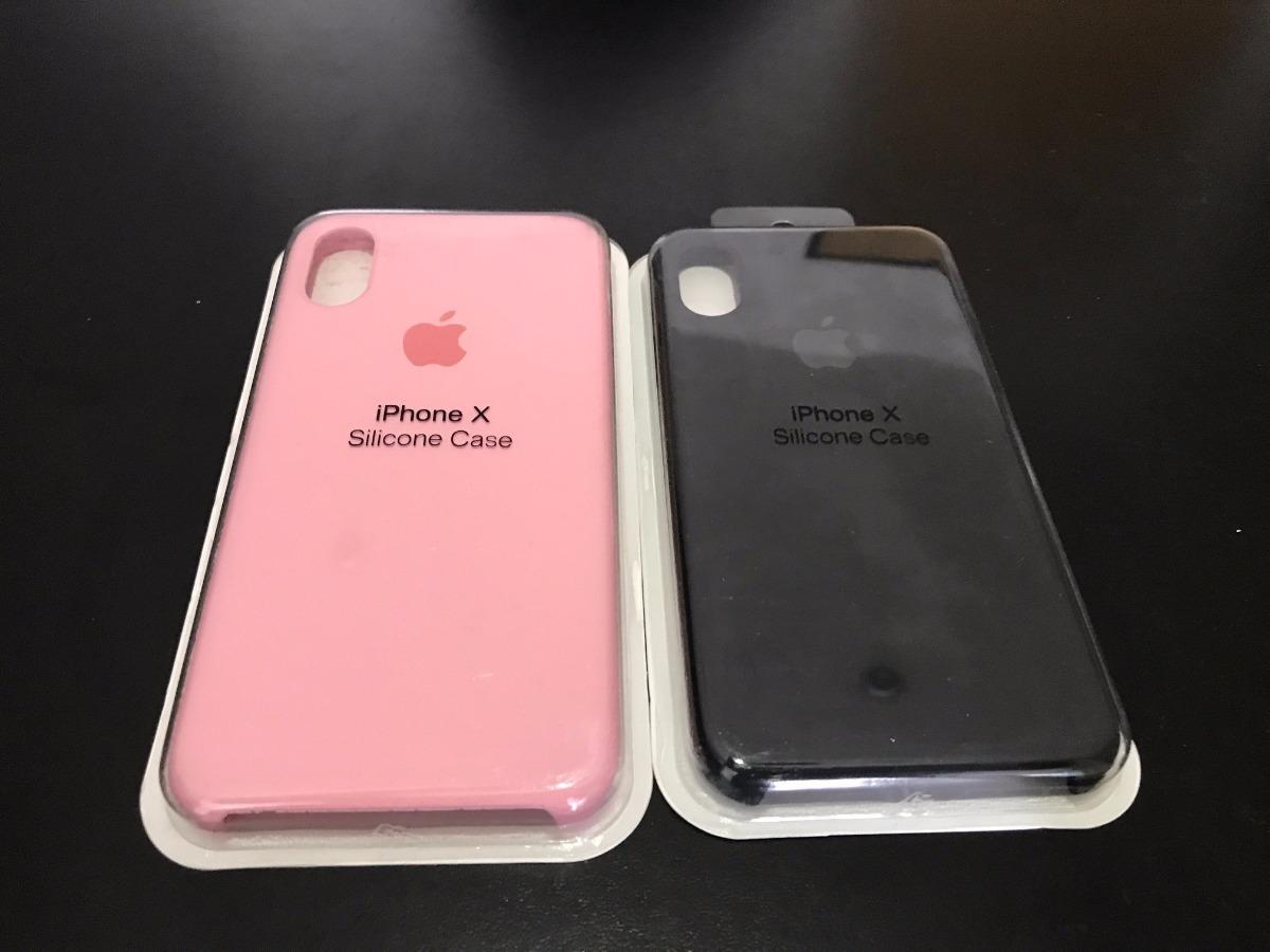 capa capinha case silicone apple iphone x 10 frete grátis. Carregando zoom. ad8e3e5ee1