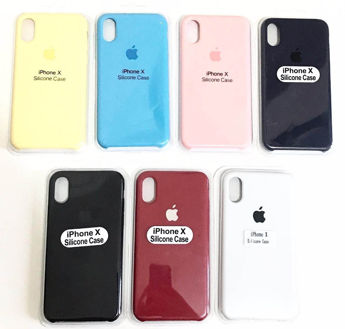 capa capinha case silicone apple iphone x 10 promoção 24 hr. Carregando  zoom. a86cc16e05