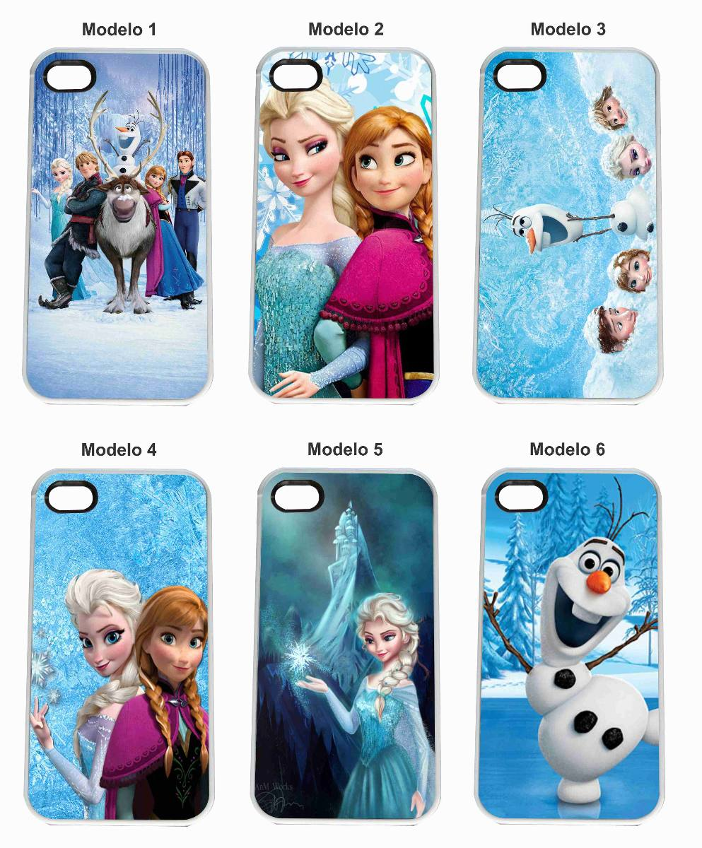 Capa Capinha Celular Frozen Elsa Olaf Iphone 6
